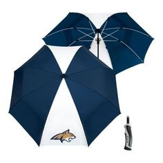 Team Effort NCAA 62'' Windsheer Lite Umbrella - Montana State University