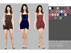 The Sims 4 Shea Dress by simply-simming