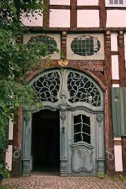 Image result for art nouveau interior panel doors for archways