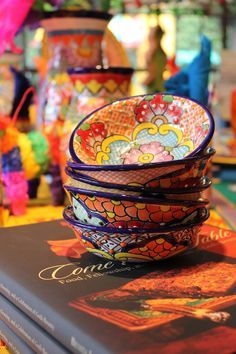 Bazaar del Mundo carries beautiful Talavera dishes from Mexico