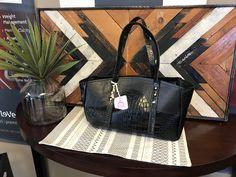 Original pattern, Leather handbag by on Etsy Black Leather Tote, Black Leather Handbags, Black Tote Bag, Leather Purses, Leather Totes, Unique Handbags, Cheap Handbags, Purses And Handbags, Vintage Bags
