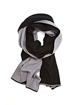 CASHMERE WOOL KNIT REVERSIBLE SCARF - Women Scarves Hats - Alexander Wang Official Site