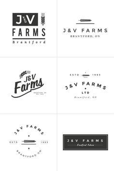 logo design process / irene victoria