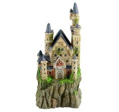 This Underwater Treasures Fairty Tale Castle ornament is the perfect decoration for turning your aquarium into a customized underwater atmosphere. Enchanted Castle, Fairytale Castle, Aquarium Ornaments, Aquarium Decorations, Saltwater Aquarium, Aquarium Fish, Fish Tank, Fresh Water, Underwater