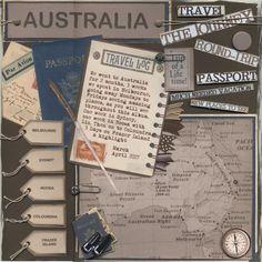 Australia: Cover Page - Scrapbook.com