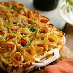 Potato Roll Casserole Call us psychic, because we know what you'll be dreaming . - Potato Roll Casserole Call us psychic, because we know what you'll be dreaming about tonight -