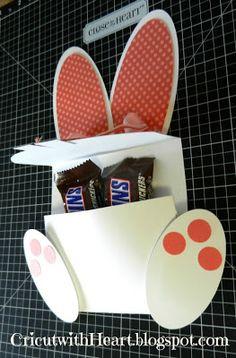 Cricut with Heart: Bunny Treat Holder