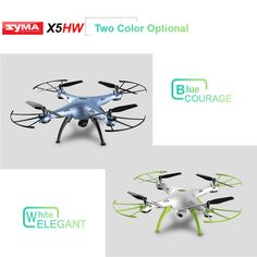 Original SYMA X5HW Wifi FPV 2.0MP HD Camera RC Quadcopter with 360° Eversion CF Mode Hover Function
