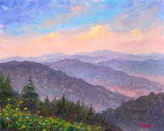 appalachian mountains | Hillside Flowers - Appalachian Mountains