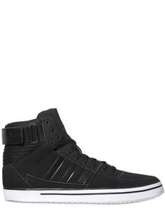 ADIDAS ORIGINALS - SKYDIVER 2 VELCRO HIGH TOP SNEAKERS - LUISAVIAROMA - LUXURY SHOPPING WORLDWIDE SHIPPING - FLORENCE Boy Fashion, Fashion Beauty, Mens Fashion, Adidas High Tops, Rocker Style, Outfits With Hats, Luxury Shop, Shoe Game, Girls Shoes