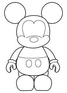 Get Free High Quality HD Wallpapers Disney Vinylmation Coloring Page