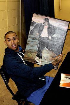 Chris brown Michael Jackson