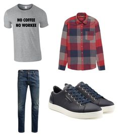 """""""Untitled #9"""" by isabella-singh on Polyvore featuring Stoic, Jack & Jones, Dolce&Gabbana, men's fashion and menswear Jack Jones, Men's Fashion, Converse, Menswear, Sneakers, Polyvore, Moda Masculina, Tennis, Mens Fashion"""