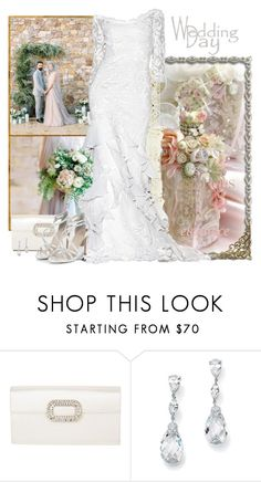 Wedding by fashionrushs on Polyvore featuring Roger Vivier and Palm Beach Jewelry