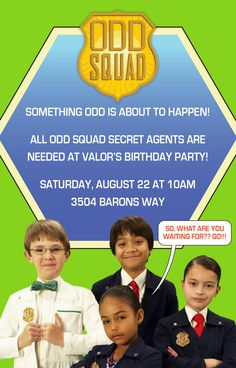 Odd Squad is like Doctor Who for kids. Not-too-scary villains try to mess up the…