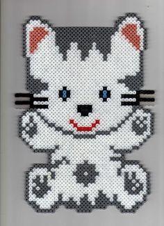 Cat hama beads - Parvathie