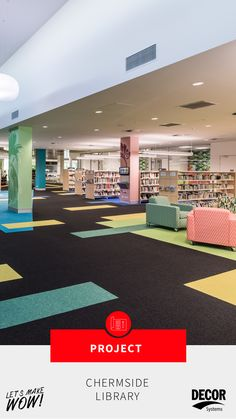 Decor Systems GECA certified DecorZen and Vogl plasterboard were selected for both acoustic and aesthetic reasons throughout the construction of the beautiful Chermside Library and North Regional Business Centre. The library unfolds over a cool 3,500-square meter space and provides many resources to the community. We are so pleased with the results! Plasterboard, Square Meter, Business Centre, Regional, Acoustic, Construction, Community, Space, Cool Stuff