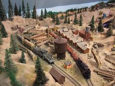 Logging Model Railroad