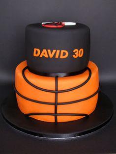 sabores da gula - Basketball cake
