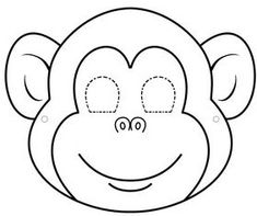 Animal Faces Coloring Pages - Animal Faces Coloring Pages , Farm Animal Masks Animal Mask Templates, Printable Animal Masks, Animal Masks For Kids, Mask For Kids, Free Coloring, Coloring Pages, Monkey Mask, Monkey Crafts, Animal Cutouts