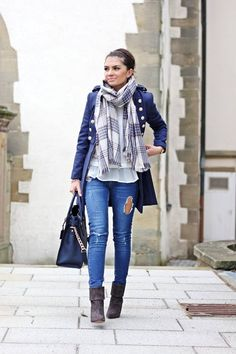23 Simple but Amazing Street Style Fall and Winter Outfits - Be Modish - Be Modish