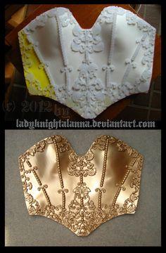 Seth Nightroad Breastplate by ~LadyKnightAlanna on deviantART
