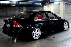 Honda Civic 2002, Black Honda Civic, Honda Civic Hatchback, Street Racing Cars, Auto Racing, Civic Jdm, Honda Vtec, Honda Jazz, Honda Accord