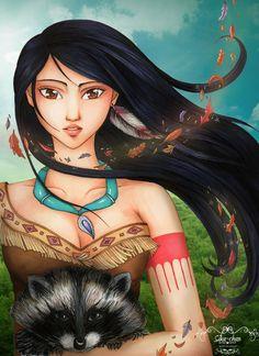Pocahontas2 by maxicarry.deviantart.com on @deviantART