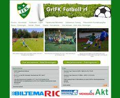 Projektina: Kotisivujen ulkoasunsuunnittelu ja - toteutus.  http://www.grifkfotboll.fi/
