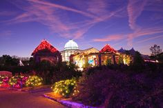 Lewis Ginter Botanical garden at Christmas - Google Search