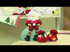 Vida com Arte | Papai Noel com Fuxico por Yvone Lobato - 02 de Setembro ...