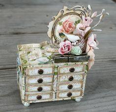 Msliberty Creations: Secret Garden Matchbox Dresser