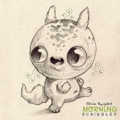 Furbler has a terrible sense of direction, but gets lost with confidence!  #morningscribbles | 출처: CHRIS RYNIAK