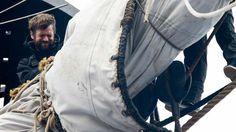 Un gabier en plein travail © Association Hermione-La Fayette