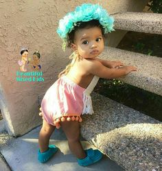 Giana Shay - 10 Months • Peruvian & African American ❤