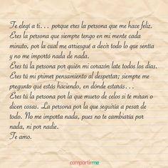 Cartas de amor románticas para decir todo lo que sientes #FrasesDeAmor #Frasesdeamorparaella #cartasromanticas