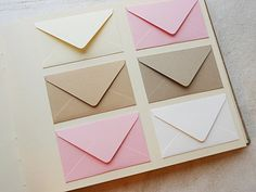 Light Pink Tan and Ivory Well Wishes Custom by BlueElephantBooks
