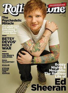 Ed Sheeran Rolling Stone cover