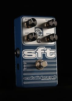 Catalinbread SFT  I've heard some decent OD tones out of it, I've also heard some good clean channeling colouring that I liked.  It's entirely possible that I'd turn the gain down and just use this to colour my cleans and alter the tone a bit.