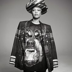 Erykah Badu by Givenchy