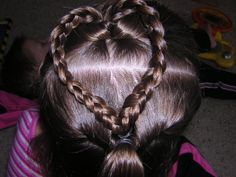 how to: braid little girls hair.