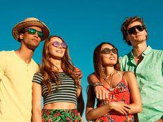 Beste Aussichten mit deinen Sunglass Hut Shades – egal, ob die Sonne auf-oder untergeht! #sunglasses #mensunglasses #womensunglasses #polarizedsunglasses #fashion