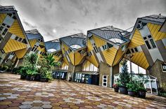 Dutch cube houses – Rotterdam, Netherlands