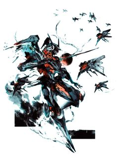 Zone of the Enders by Yōji Shinkawa