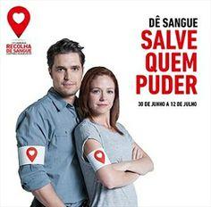 Dê sangue | salve quem puder | 13ª Campanha anual de Recolha de Sangue Mundicenter | Diogo Morgado e Paula Lobo Antunes |  30 de junho a 12 de julho 2014  #blooddonation #darsangue #giveblood #salvequempuder