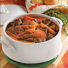 Boeuf aux légumes Crack Chicken, Tex Mex, Pot Roast, Love Food, Crockpot, Slow Cooker, Food And Drink, Healthy Eating, Vegetarian