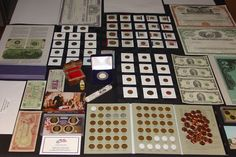 #coins HUGE AUCTION!! ~ US COIN COLLECTION LOT #104 ~ GOLD ~ SILVER ~ ESTATE ~ BID NOW! please retweet