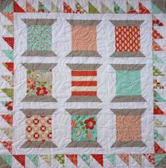 42 Best images about Spool Quilts