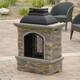 Found it at Wayfair - <strong>Home Loft Concept</strong> Fresno Outdoor Natural Stone Chiminea Fireplace
