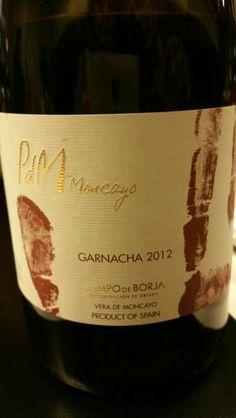 Pagos del Moncayo Garnacha 2012 - DO Campo de Borja - Bodegas Pagos del Moncayo (Vera de Moncayo) - Vino tinto con una crianza de 10 meses en barricas de roble americano - 100% Garnacha tinta - 14,5% - 91 PEÑIN \ 89 PARKER
